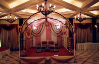 M.S. Pipe Arch for Wedding Stage